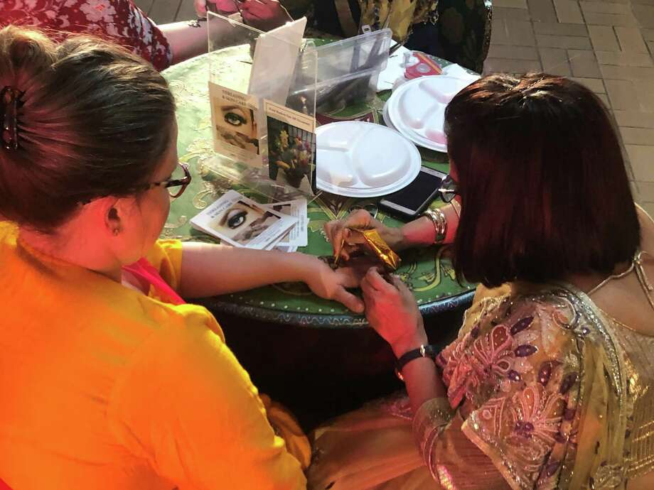 About 1,000 people filled the Beaumont Civic Center Nov. 16, 2019 for the 29th annual India Fest. The sold-out event featured Indian food, clothing and jewelry, a photo booth, dinner and dancers, among other attractions. Photo: Monique Batson/The Enterprise