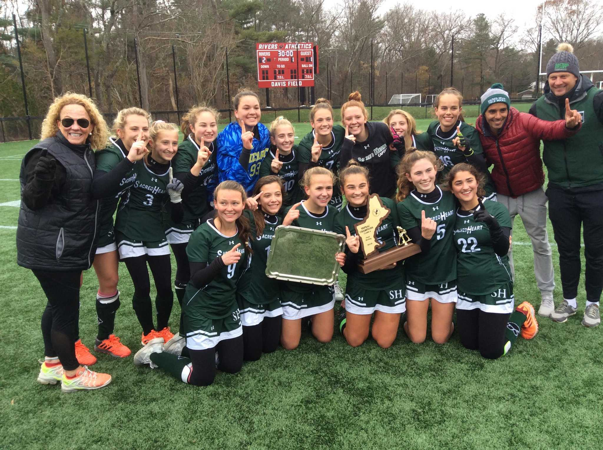 Sacred Heart field hockey team tops Tabor Academy for the NEPSAC Class A title - Greenwich Time