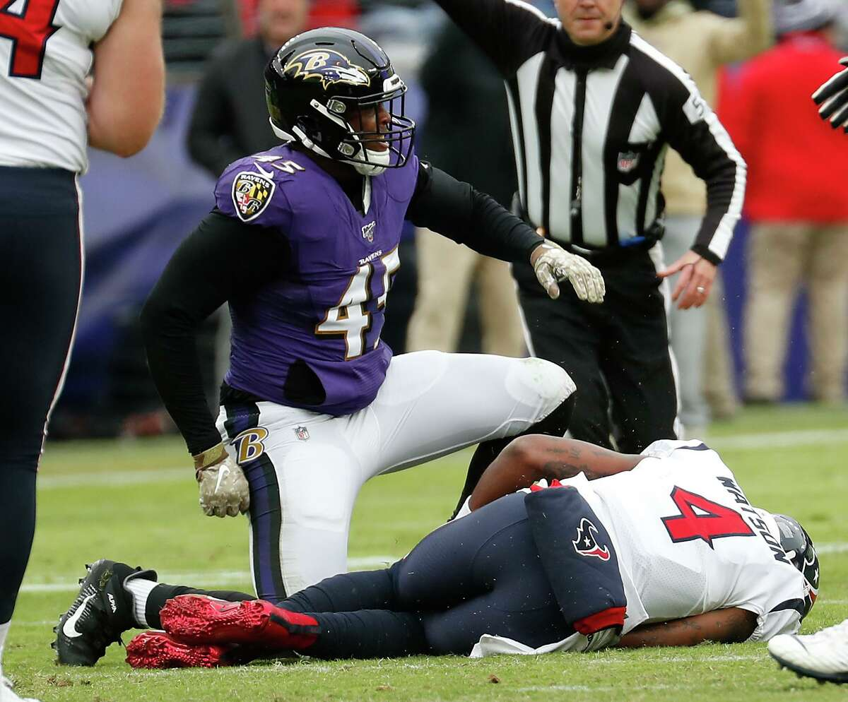The Ravens and linebacker Jaylon Ferguson kept the Texans and quarterback Deshaun Watson down last season, holding Houston to just seven points. The teams are scheduled to meet again in Week 2 of the 2020 season.