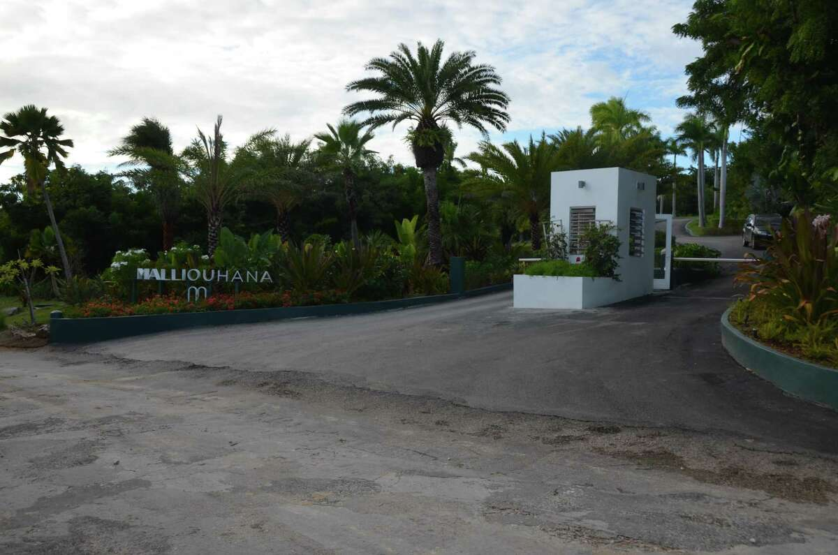 The Malliouhana hotel in Anguilla where Darien resident Scott Hapgood was accused of killing worker Kenny Mitchel while on vacation in April.