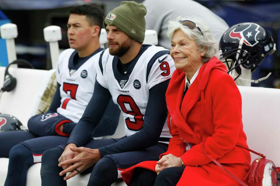 >>> See how Houston Texans owner Janice McNair compares to the richest owners in the NFL.  Photo: Brett Coomer,  Houston Chronicle / Staff Photographer / © 2019 Houston Chronicle
