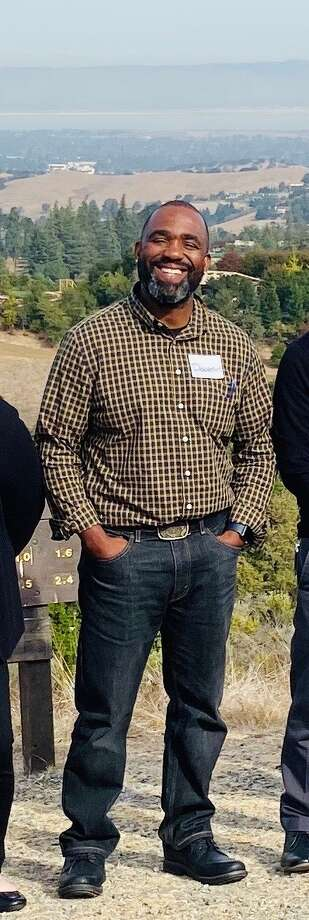 Donatus Okhomina, 42, leaves behind a wife and four daughters, ages 17, 14, 11 and 6. Photo: Courtesy Of City Of Palo Alto