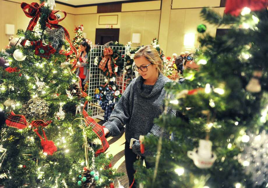 The Little Enchanted Forest will be held Saturday and Sunday at the Greenwich Botanical Center at 130 Bible St. It is hosted by the Junior League of Greenwich. There will be a forest of decorated trees, a holiday boutique and a wreath-making workshop. The league is also setting up a children's giving shop, where kids can buy holiday gifts independently. The decorated trees and wreaths will be put up for auction. Santa Claus will also be back to hear holiday wishes and pose for pictures. For a full schedule and to buy tickets, visit www.jlgreenwich.org. Photo: File / Tyler Sizemore / Hearst Connecticut Media / Greenwich Time