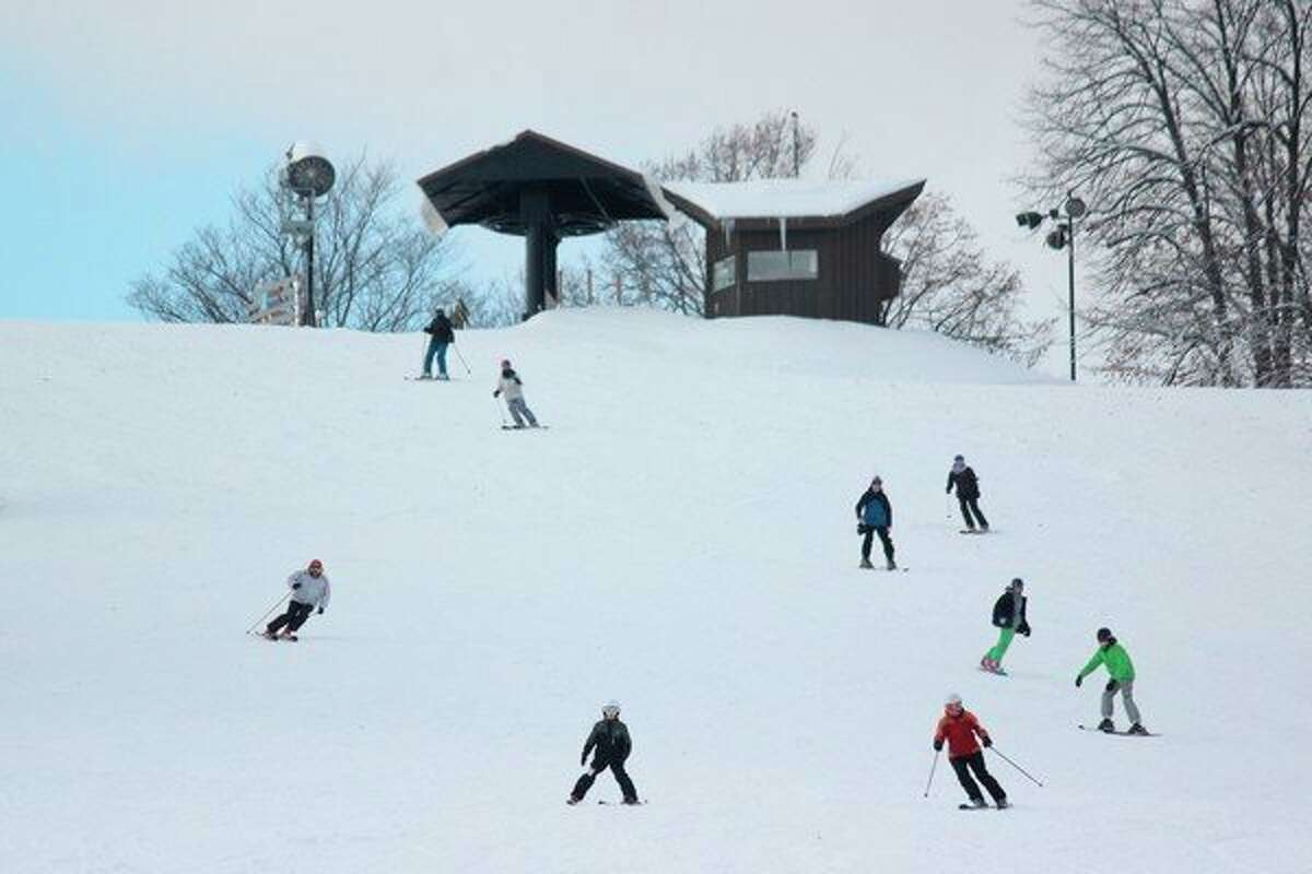 Skiers took to the slopes on Nov. 15 for Crystal Mountain's opening day. (Robert Myers/Pioneer News Network)
