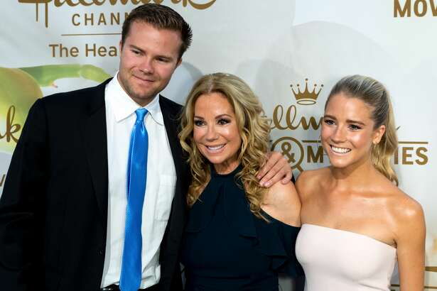 Cody Gifford, Kathie Lee Gifford and Cassidy Gifford arrives for the 2017 Summer TCA Tour - Hallmark Channel And Hallmark Movies And Mysteries on July 27, 2017 in Beverly Hills, California. (Photo by Greg Doherty/WireImage)
