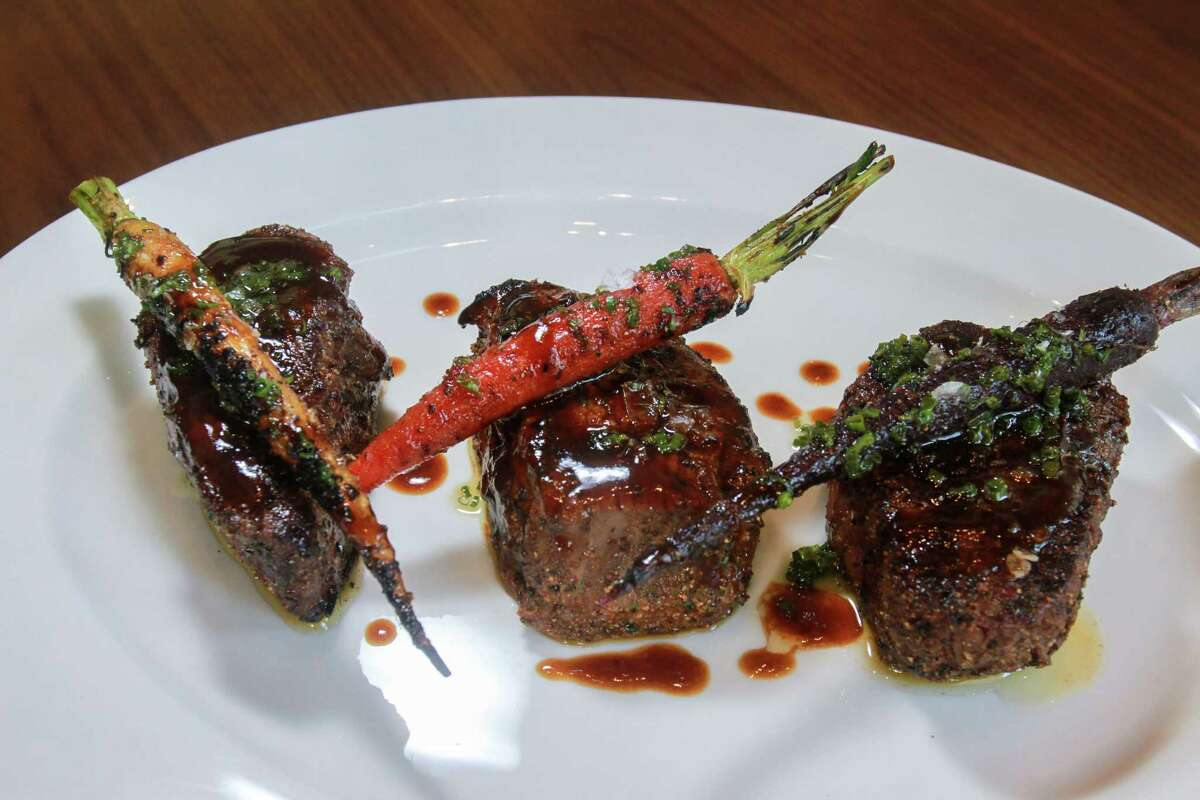 Filet Flight features 4-ounce portions of Prime, Angus and wagyu steaks at Guard and Grace.