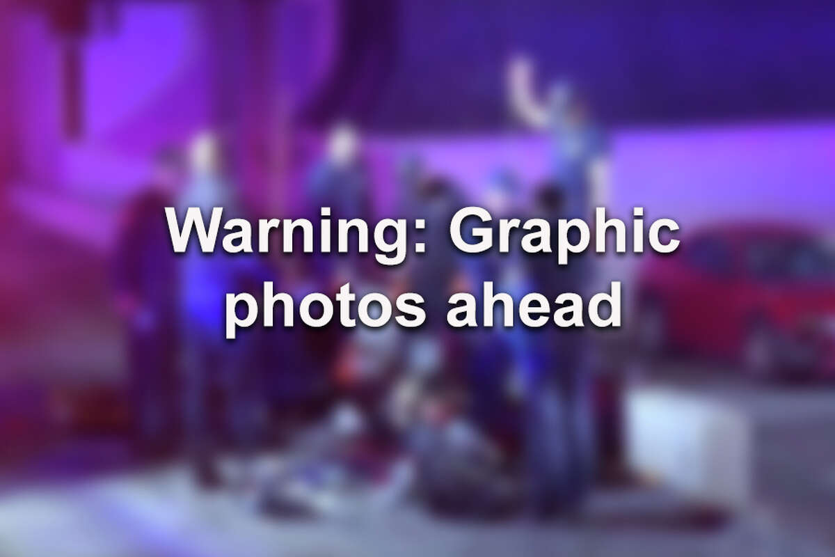 Warning: Graphic photos are ahead.