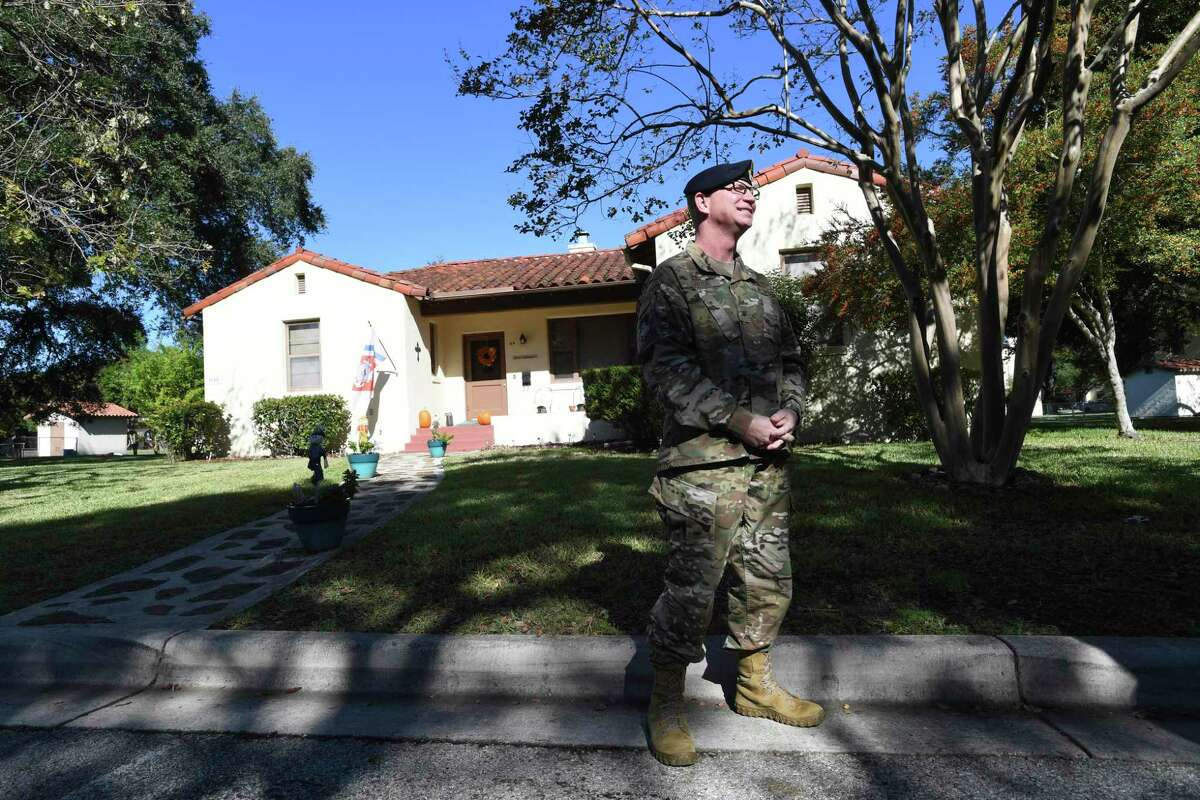 Col. Jeffrey Carter, Joint Base San Antonio's Security Forces group commander, shown at Randolph, said JBSA was unaware of the level of anger of tenants in privatized housing until meetings in February.