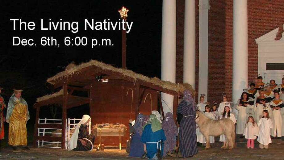 """Jesse Lee Memorial United Methodist Church, 207 Main St. presents its celebrated """"Living Nativity"""" on Friday, Dec. 6, at 6 p.m. Photo: Contributed Photo."""