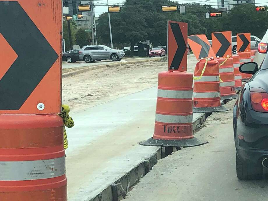 Sections of roadwork on Richmond Avenue from Main to Beltway 8 are largely wrapping up. Some areas like this one are still down to one lane, but all the work is slated to be finished by winter 2020. Photo: Tracy Maness