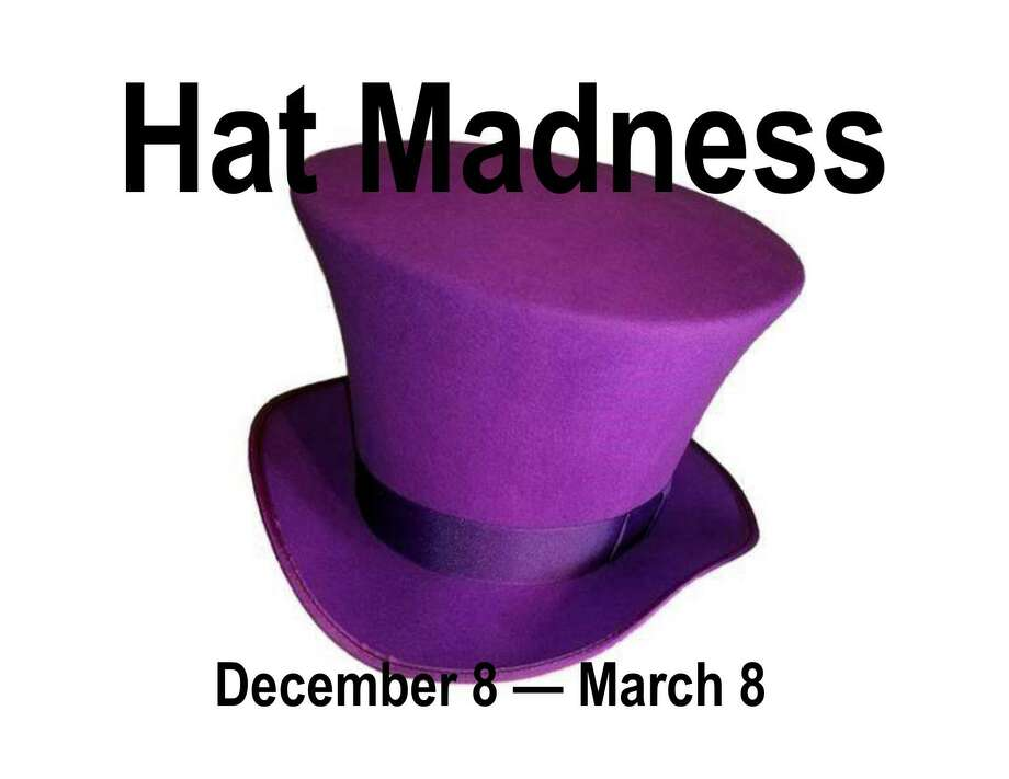 The New Canaan Museum & Historical Society's new exhibition Hat Madness opens on Sunday, Dec. 8, with a reception from 1:30 to 3 p.m. Photo: Contributed Photo