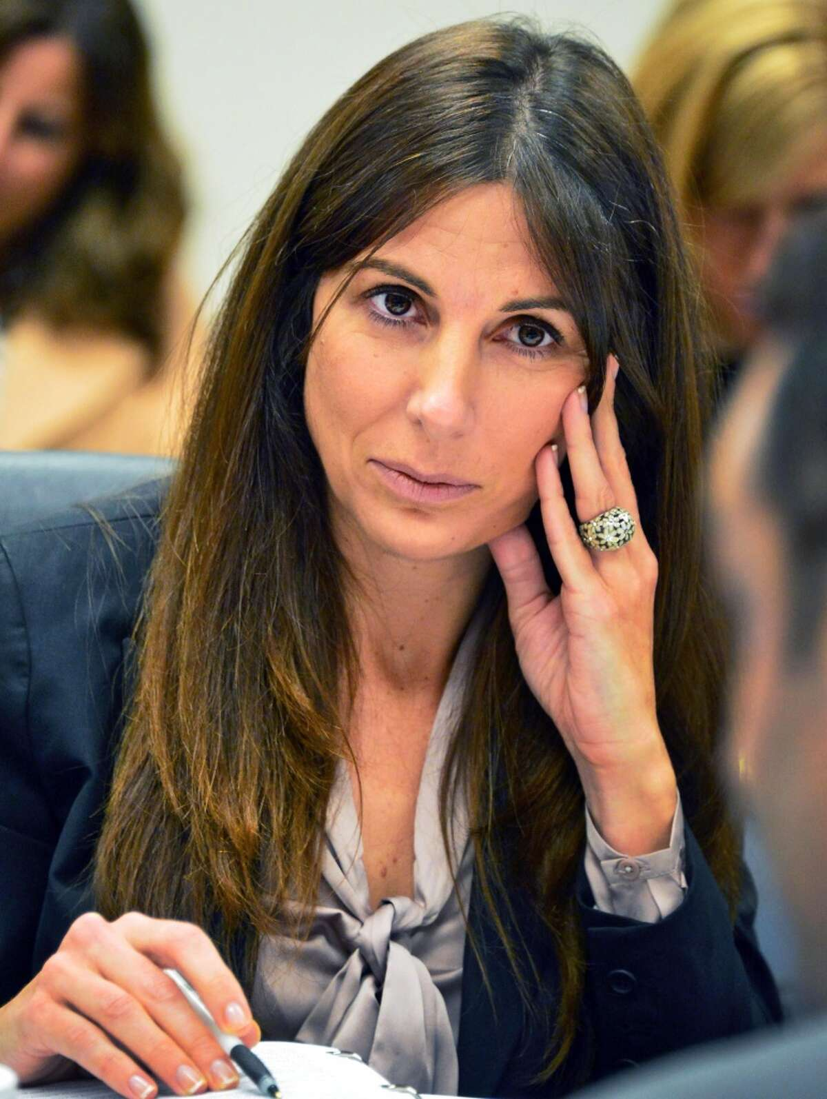 Inspector General Letizia Tagliafierro is a former JCOPE executive director and Cuomo appointee. She is shown here in the New York State Joint Commission on Public Ethics meeting in Albany Tuesday Oct. 29, 2013, in Albany. (Times Union archive)
