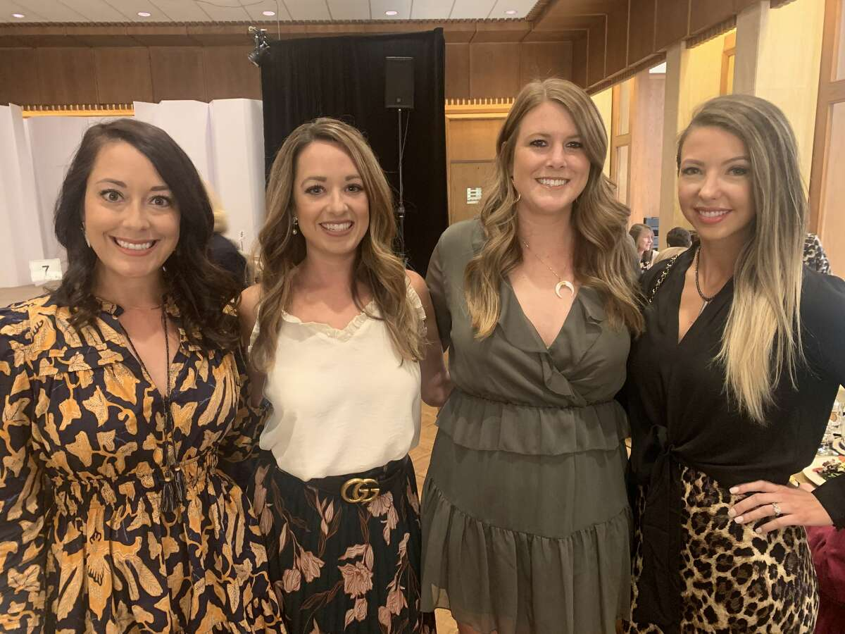Petroleum Club: Melinda Smart, from left, Ashley Lamb, Branne Reeves and Brittany Usrey