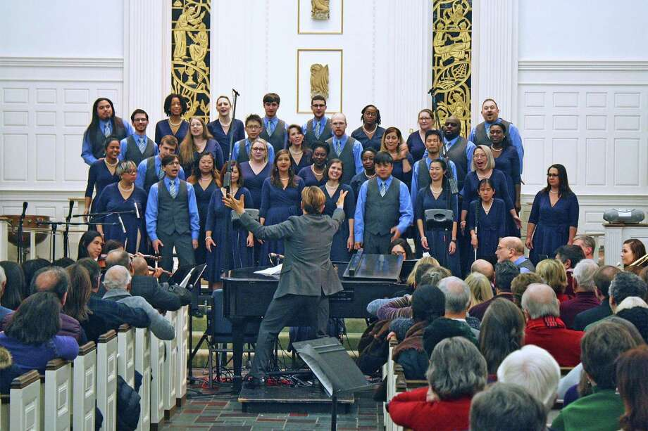 The SymphoNYChorus presents its 12th annual Christmas concert at Jesse Lee Memorial United Methodist Church in Ridgefield on December 14. Photo: Jesse Lee Memorial United Methodist Church / Contributed Photo
