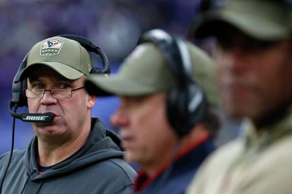 Bill O'Brien says he expects the Texans to bounce back on Thursday against Indianapolis after a 41-7 loss in Baltimore.