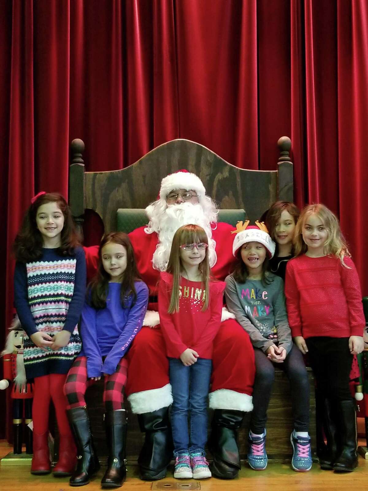 St. Mary School, 72 Gulf St. will host a Breakfast with Santa on Sunday, Dec. 8, from 7:30-11:30 a.m.