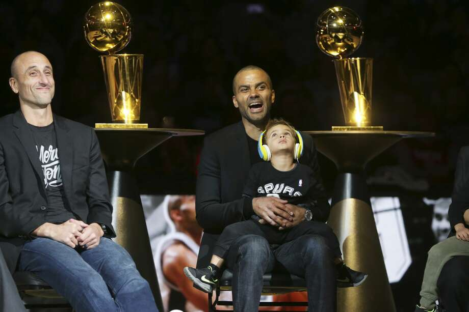 Former Spurs player Tony Parker will open up about his life and NBA career in a new autobiography releasing in November. Photo: Tom Reel/Staff Photographer