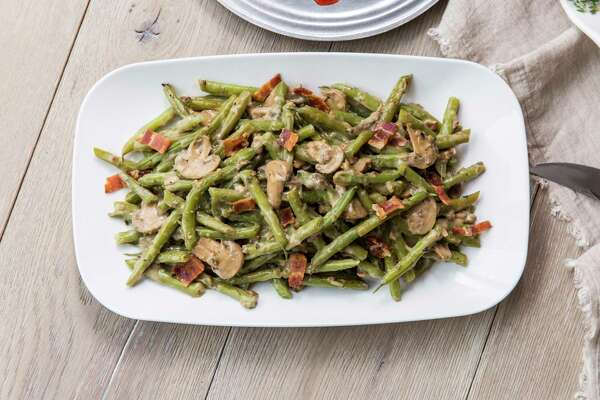 Green Beans Oregano made using a Ann Criswell's recipe from the Houston Chronicle archives. For the recipe, visit renewhouston.com. Styled by Carla Buerkle.