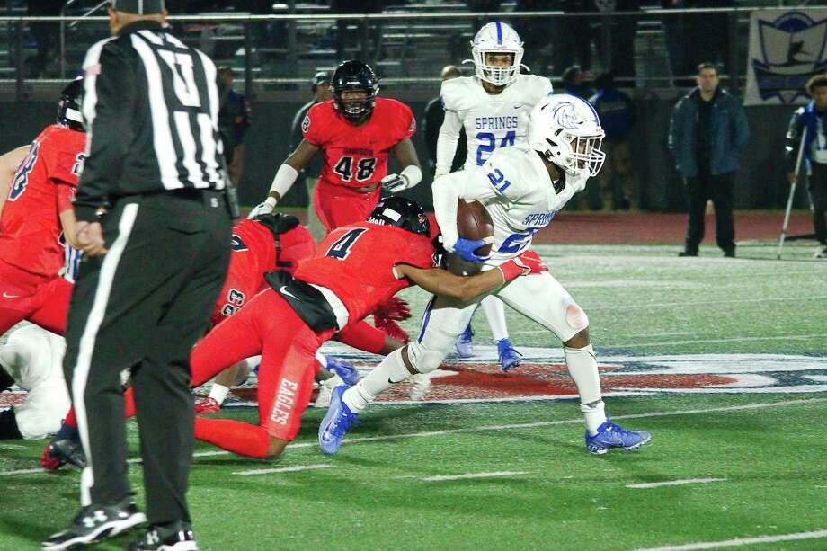 The Dawson Eagles will have a big challenge this Friday when they battle defending state champion Galena Park North Shore. Photo: Kirk Sides / Staff Photographer / © 2019 Kirk Sides / Houston Chronicle