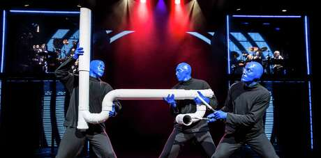 Blue Man Group is bringing its newest show, which is almost entirely new material, to the Majestic Theatre.