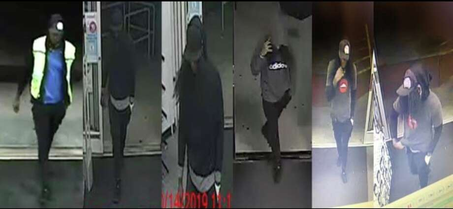 Police from across the Houston area are asking for help in identifying a man accused of robbing several CVS pharmacy locations in October. The suspect is described as a black male, about 6 feet tall and weighing about 200 pounds. He is between 22 and 29 years old, has long black hair that is possibly a wig, police say. Anyone with information on this suspect is urged to call Houston Crime Stoppers at 713-222-TIPS (8477). Photo: Houston Police Department