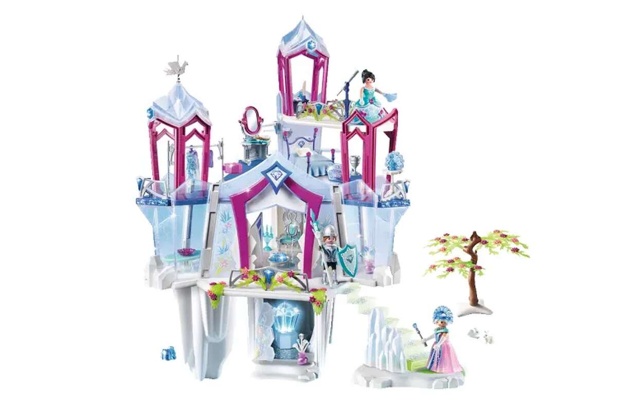 Frozen 2 fever is about to set in and reinvigorate a love for all things snow queen! Which means this amazing Playmobil Crystal Palace is primed to top holiday wish lists. The raven-haired royal included in this set lives in a glittery,