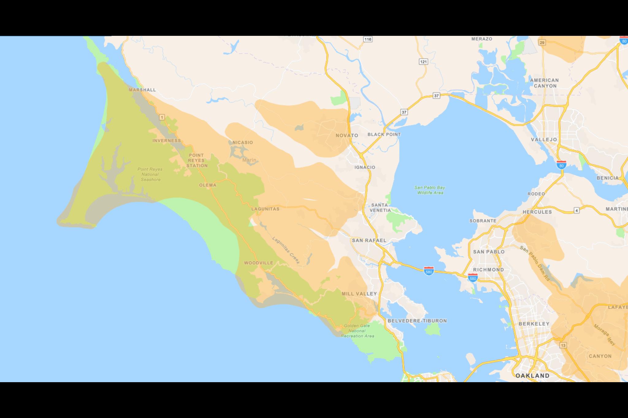 Here's where PG&E blackouts will start Wednesday - SF Gate