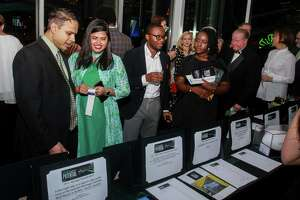 "EMBARGOED FOR SOCIETY REPORTER UNTIL NOV. 20 The silent auction at The Big Brothers Big Sisters ""An Evening for Potential"" on November 16, 2019."