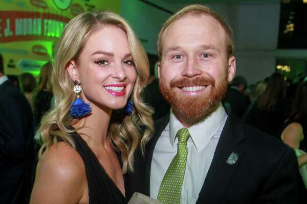 "EMBARGOED FOR SOCIETY REPORTER UNTIL NOV. 20 Sarahbeth and Pierce Bush at The Big Brothers Big Sisters ""An Evening for Potential"" on November 16, 2019."