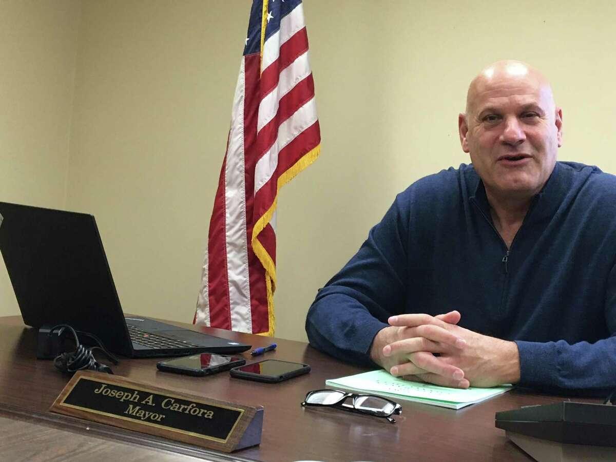 East Haven Mayor Joe Carfora