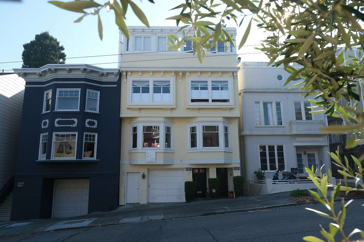 A general view of the property at 2845 Union Street in San Francisco, Calif. on Monday November 18, 2019.