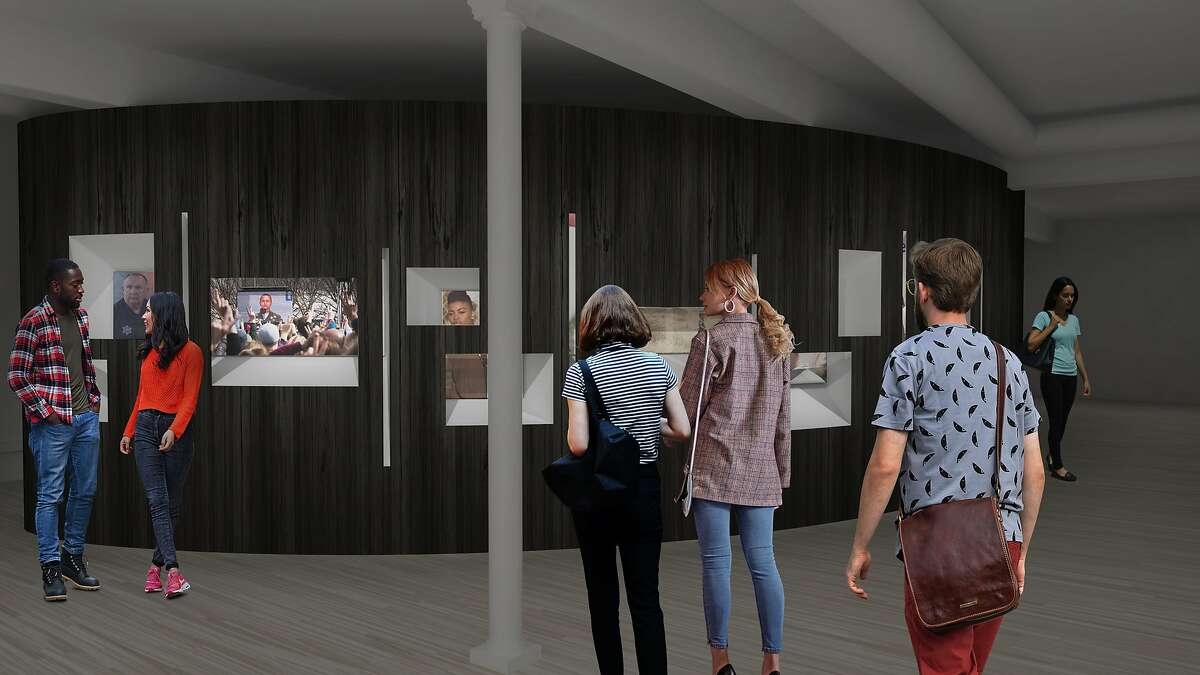 A rendering of the Courage Museum.