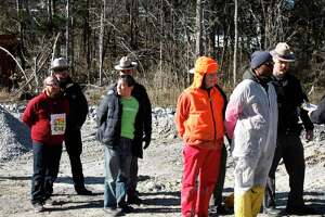 29 protesters were arrested on Saturday, November 16, at the Cricket Valley fracked gas plant (CVE) in Dover Plains, NY. A tractor blockade organized by the community group ResistCVE took place early in the morning. and four climbers scaled a 275-ft-tall smokestack and stayed at the top for 12 hours, resulting in a halt to CVE's construction. November 16, 2019, in Dover Plains, New York.