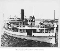 113 years ago: Ferry crashes into steam ship on Puget Sound, sinking and killing at least 39