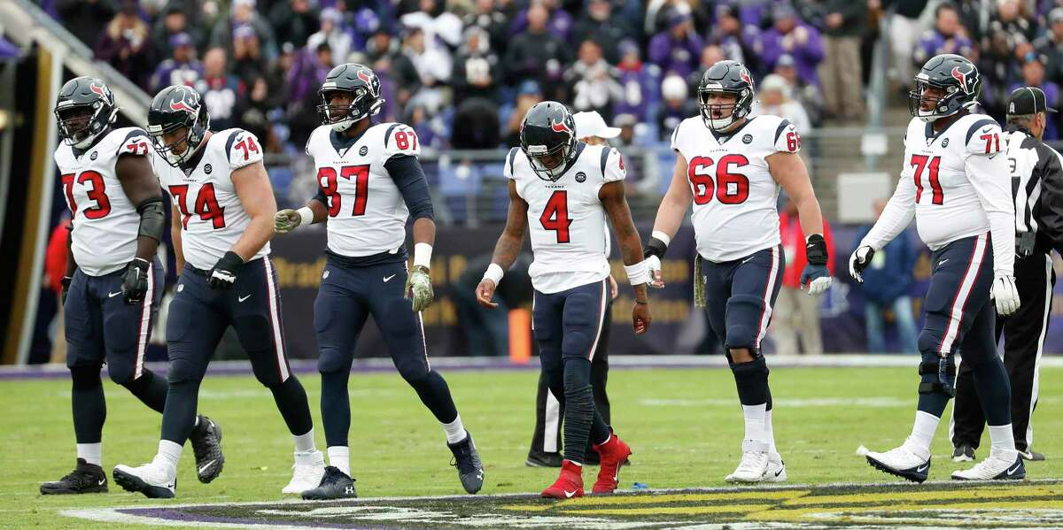 The Texans offense was stymied in last season's loss to the Ravens and will have to find new ways to beat Baltimore.