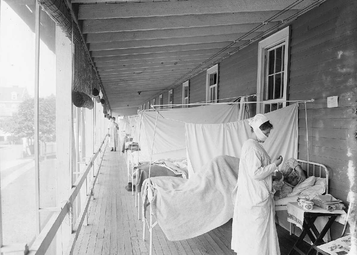 NHL players were not immune to the worldwide Spanish Flu epidemic. Four members of the Montreal Canadiens landed in the hospital during the Stanley Cup Final, and no trophy was awarded that season.