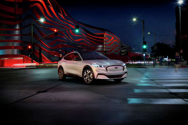 Ford Motor Company unveild the latest Mustang, the Mustang Mach-E, an all-electric SUV.