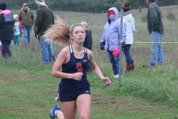 Hanna Brock was BR's front runner all season and lone state-qualifier on the girls side. (Pioneer photo/John Raffel)