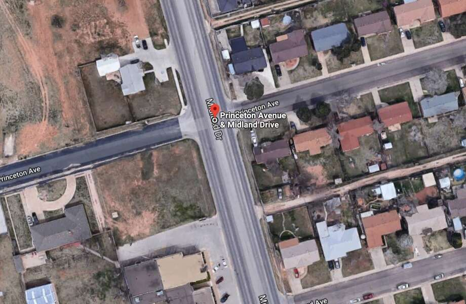 The request was for a zone change from SF-1, single family dwelling district in part and MF-22 multiple family dwelling district to MF-16, multiple family dwelling district on 19.7 acres at Princeton Avenue and Midland Drive. After more than an hour of comments, commissioners approved the request by a 4-to-1 vote. Photo: Google Maps