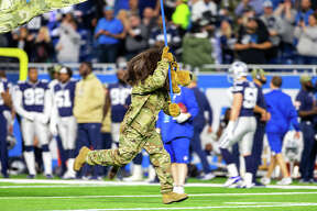 ©Quad N Productions for the Huron Daily Tribune. Dallas Cowboys at Detroit Lions 11-17-19 The visiting Dallas Cowboys beat the Detroit Lions 35-27 on Sunday, Nov. 17, 2019, at Ford Field.