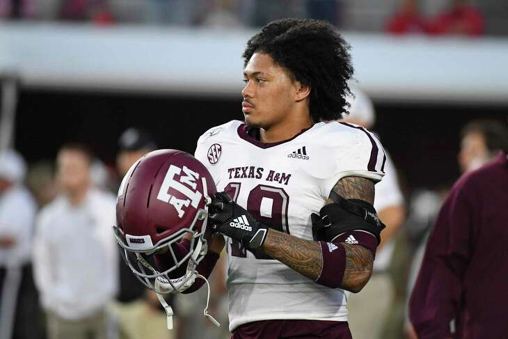Linebacker Anthony Hines III and Texas A&M are currently on a four-game winning streak going into Saturday's game.