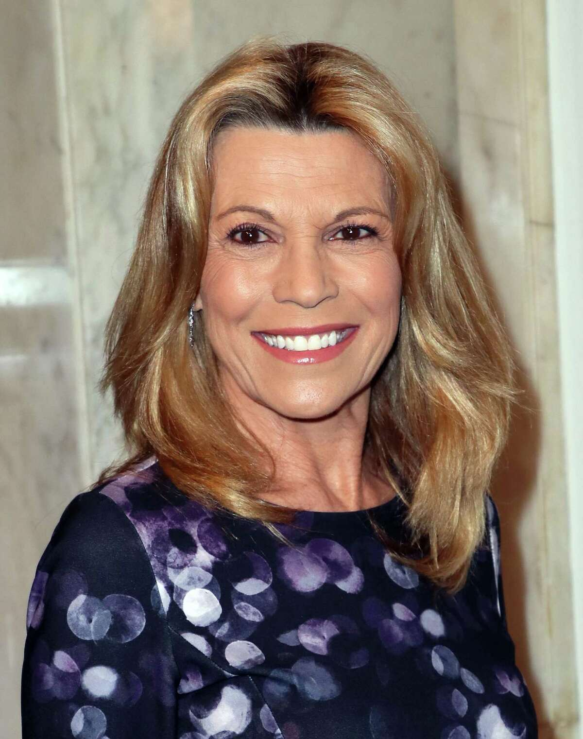 Vanna White attends the Women's Guild Cedars-Sinai annual luncheon at the Regent Beverly Wilshire Hotel on Nov. 06, 2019 in Beverly Hills, Calif.