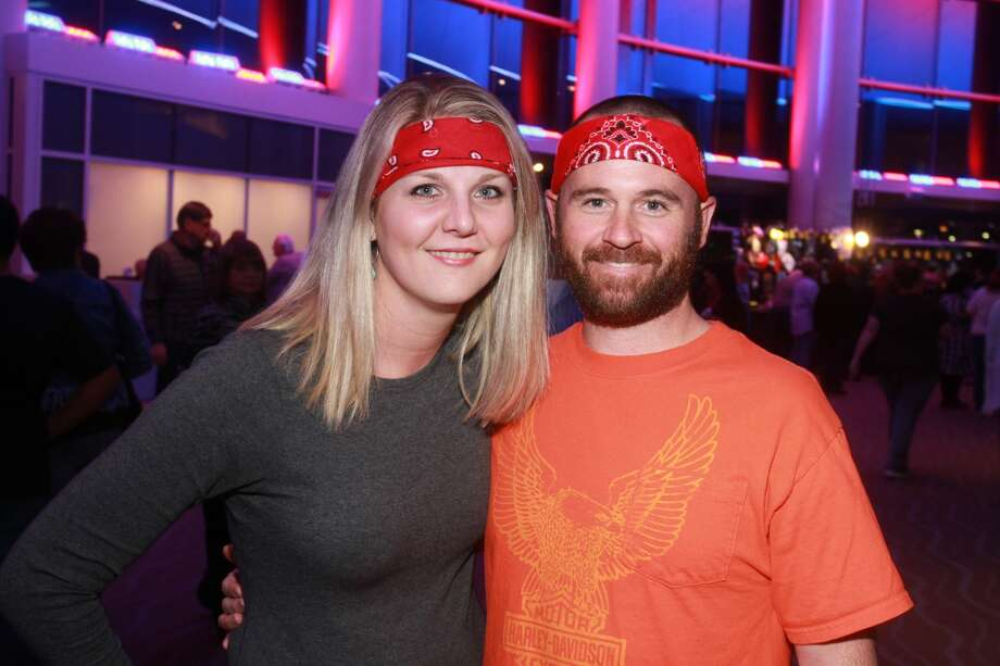 Fans attending Willie Nelson's Smart Financial Centre show in Sugar Land on Nov. 18, 2019. Photo: Gary Fountain/Contributor