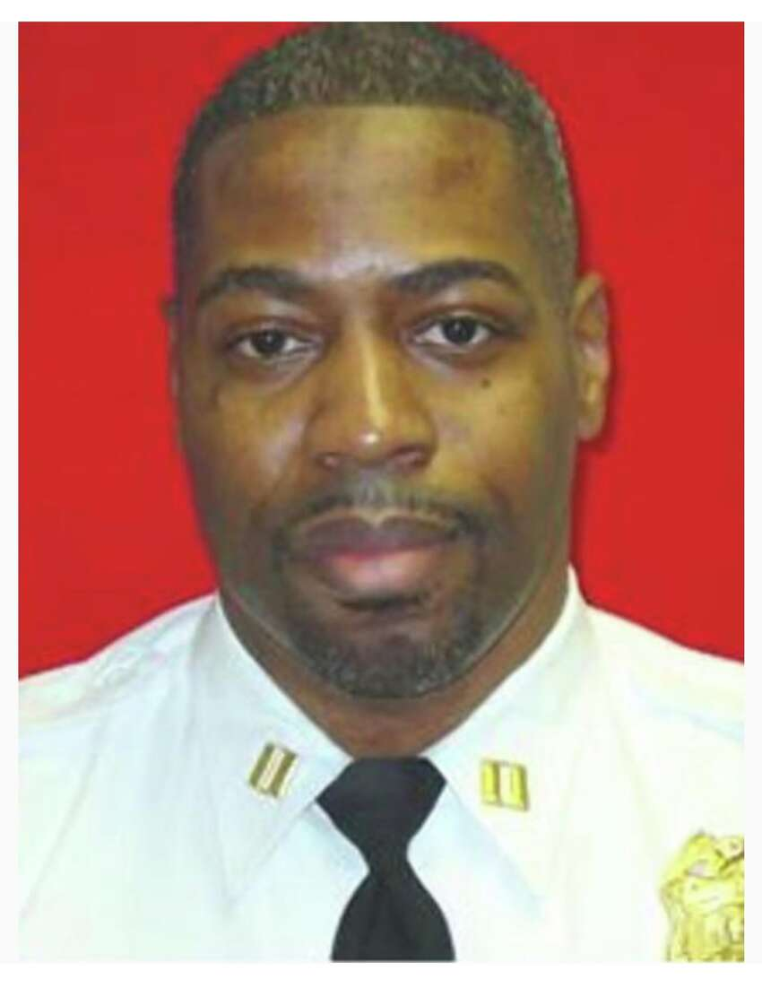 Captain Gerald Vaughn, a retired Rikers Island prison guard convicted of assault in a 2012 inmate beating. Vaughn's attorney and supporters insist he is innocent and are working to dismiss his case and get him released by the end of the year.