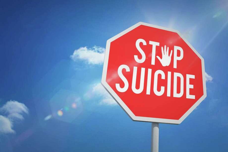 Stop suicide Photo: Dreamstime