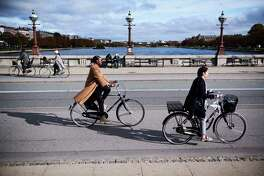 Copenhagen officials estimate that 75% of all trips must be done by bike, foot or public transportation to meet their 2025 goals.