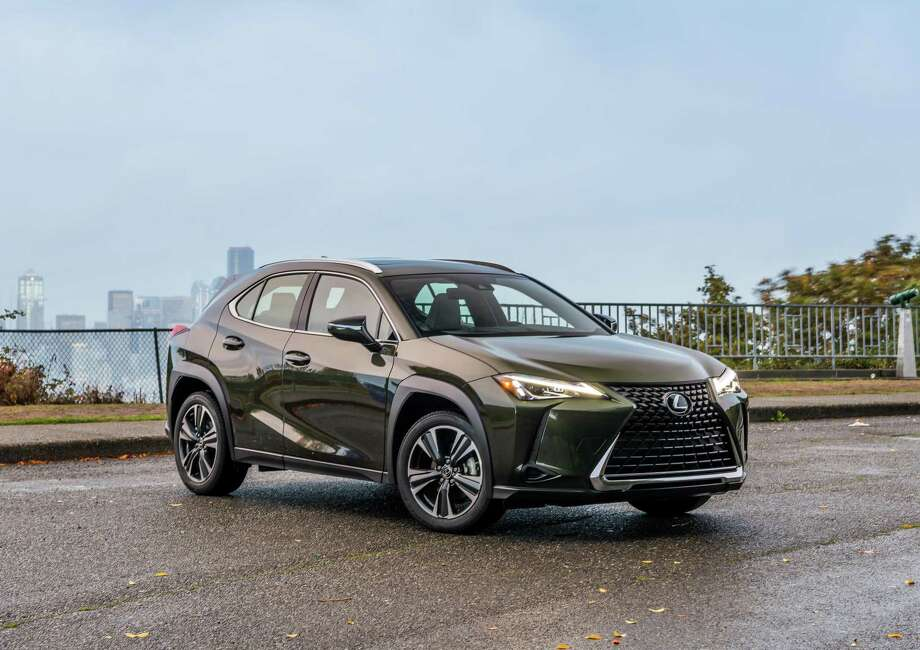 The 2019 Lexus UX has a fuel-economy rating of 41 mpg city, 38 highway. Photo: Lexus/ Contributed Photo / JESSICA LYNN WALKER