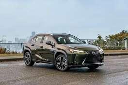 The 2019 Lexus UX has afuel-economy rating of 41 mpg city, 38 highway.