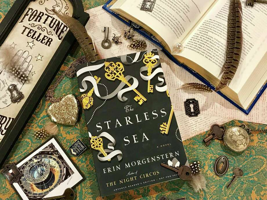 """The Starless Sea"" by Erin Morgenstern features stories wrapped in stories. Photo: TinaMarie Craven / Hearst Connecticut Media /"