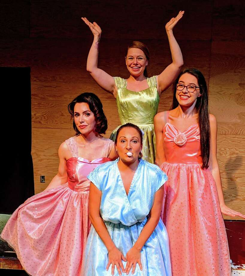 Back: Lauren Nicole Sherwood as Suzy, Rena Gavigan as Missy; front: Sarah Giggar as Cindy Lou, Tarah Margaret Vega as Betty Jean. Photo: Paulette Layton.